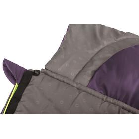 Outwell Contour Lux Sleeping Bag Eggplant Purple